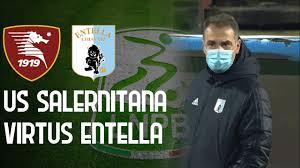 SALERNITANA - VIRTUS ENTELLA 2-1 | 14ma Giornata Serie B 2020/21 | Foto e  Statistiche della gara - YouTube