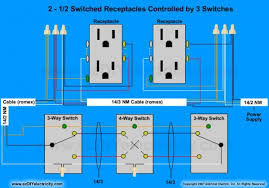 need diagram help on easiest way to wire split receptacles on 4 way Switch Controlled Outlet Wiring Diagram Split Outlet Wiring Diagram #11