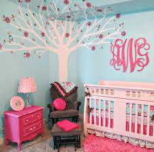 Pink and Aqua Monogram Nursery | Project nursery, Aqua and Monograms