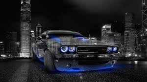 dodge challenger muscle crystal city car