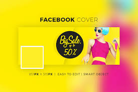 the clean facebook sle banner is a simple colourful and gorgeous looking sle facebook banner template which looks excellent and will be the perfect