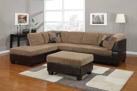 light brown corduroy sectional sofa