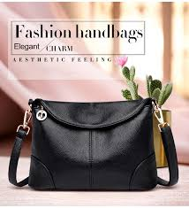 New <b>Elegant Shoulder</b> Bag for Women 2019 <b>Leather Fashion</b> ...