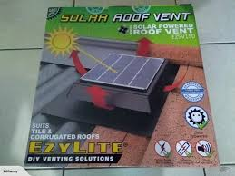 solar powered roof ventilator ventilator fan car caravan house and etc trade me