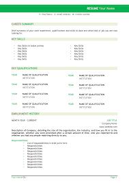 Resume Template For Australia Styles Cv Resume Template Australia The Australian Resume Joblers 6