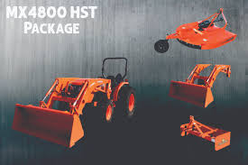 mx4800hst package mx4800 hst kubota tractor