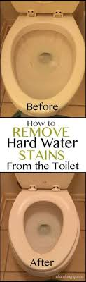 how to clean off soap s and hard water stains with