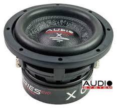<b>Audio System</b> X 06 Evo <b>X Ion Series</b> Woofer 16,5cm Long Stroke ...
