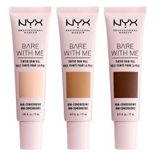 Nyx Foundation Color Chart Nyx Bare With Me Tinted Skin Veil