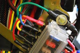 bdx harness for ruckus indication system datasheet buggydepot also secure the green and black wires ring terminals to the upper bolt of he fuse panel the black wire comes from the starter cable section