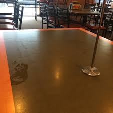 photo of round table pizza sacramento ca united states filthy tables