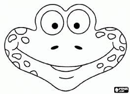 Masker Van Kikker Kleurplaat Faaliyet Frog Mask Printable Masks