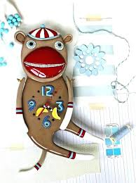 sock monkey wall art wall monkey wall art sock monkeys jumping on the bed wall decal