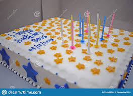 Birthday Cake For Boss From Staff Stock Photo Image Of Staff