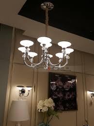 Moderne Led Kroonluchter Kristal Zand Nieuwe Ontwerp Plafondlamp