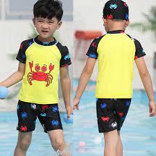 Bộ Đồ Bơi Cho Bé Hình Cua Biển BB026 MayHomes Hình Crab, Vải Thun Lạnh Bền  Đẹp, Không Phai Màu, Dành Cho Bé Trai Và Bé Gái | Đồ bơi bé trai