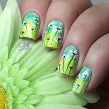 Floral nail art for Digital Dozen Nature Week: Day Two - Set in ...