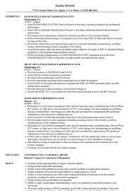 Field Service Representative Sample Resume Field Service Representative Resume Samples Velvet Jobs 14
