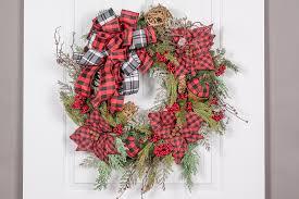 Wreaths By Design Walker La Poinsettia Grapevine Wreath