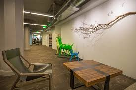 twitter office san francisco. The Nature Theme Is Part Of Twitter\u0027s Core Identity. These Deer Have Moved  With The Office From Its First Location. Twitter San Francisco