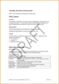 Sample Of Business Continuity Plan Cmerge Checklists Checklist ...