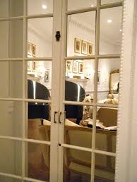 Mirrored French Doors Photos Wall and Door TinfishclematisCom