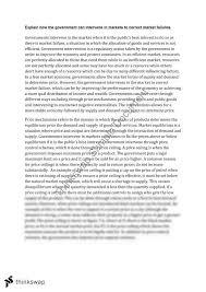 economics market failure essay year hsc economics thinkswap economics market failure essay