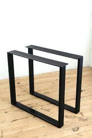 wooden coffee table legs medium size of u shape black steel dining table legs metal for wooden coffee