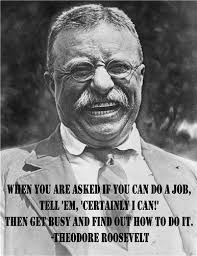 Quotes By Teddy Roosevelt Interesting Amazon THEODORE ROOSEVELT JOB QUOTE GLOSSY POSTER PICTURE PHOTO