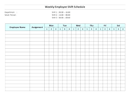 Free Work Schedule Template Free Work Schedule Templates For Word