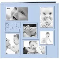 baby collage frame pioneer baby collage frame large photo album blue 689744217358 ebay