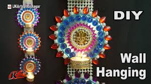diwali room decorating ideas. diy diwali room decor ideas | wall hanging candle holder best from waste dvd jk arts 1289 decorating r