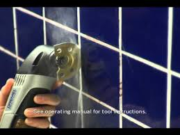 removing grout dremel multi max