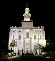 Lighting Stores St George Utah St George Temple At Night It Literally Glows In The Dark