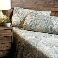 queen sheet sets paisley sheets queen crystal palace paisley deep pocket cotton sheet set free