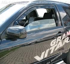 <b>Дефлекторы окон</b> и капота автомобиля <b>Suzuki</b> Grand Vitara ...