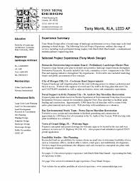 Landscaping Resume New Resume Examples Landscaping