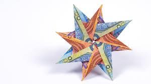 Geldscheine Falten Stern Einfach Geldscheine Falten
