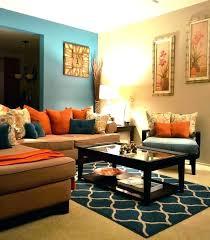 orange living room teal and orange living room decor orange living room decor teal decor brown orange living room