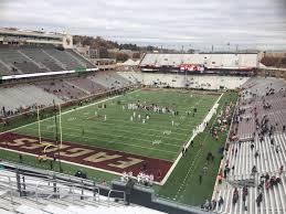 Alumni Stadium Lower Level Sideline Football Seating