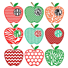 Apple Pattern Magnificent Apple Patterns Svg Cuttable Frames
