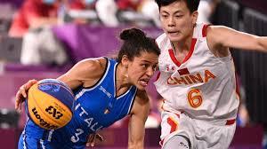 Olimpiadi, Tokyo 2020, Basket 3x3: Italia eliminata ai quarti di finale  dalla Cina; prova maestosa di Wang - Eurosport