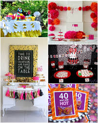 40th Birthday Decorations For Her Cute 40th Birthday Decorations Decor Ideas