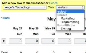 Free Timesheet Software Tasks And Charge Codes In Weworked