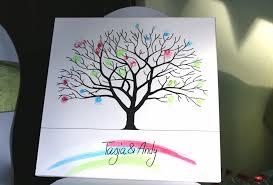 Hochzeitsbaum Auf Leinwand Selbst Gestalten