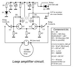 loop antenna loop amplifier circuit diagram