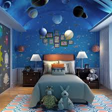 intriguing space themed bedroom