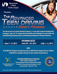 Teen safe driver program lessons