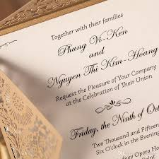 wedding invitation package philippines awesome hot luxury design customized laser cut wedding invitations gold of