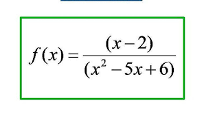 we will use a given rational function as an example to show ytically how to find a vertical asymptote and a hole in the graph of that function